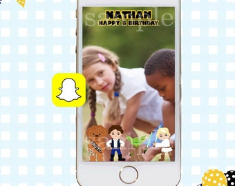 Snapchat GeoFilter, Luke Skywalker Snapchat Filter, Snapchat Filter, Star Wars Snapchat GeoFilter, Star Wars Birthday, Yoda GeoFilter