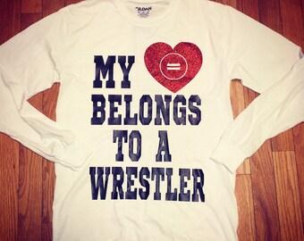 My heart belongs to a wrestler!