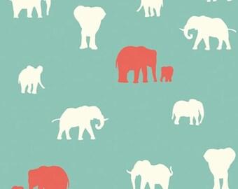 The Herd (Pool) - Serengeti - Birch Fabrics - Organic Cotton - 1 Yard