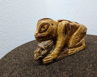Chupacabra - Original Stoneware Figurine by Danny Korves