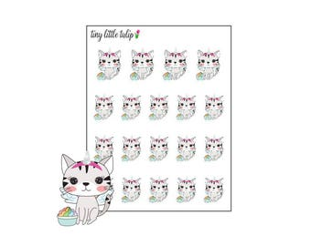 Planner Stickers Cat Food