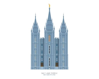 Salt Lake Temple (digital file)