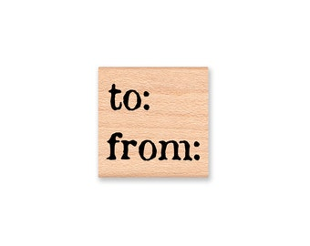 to  from-wood mounted rubber stamp(33-26)
