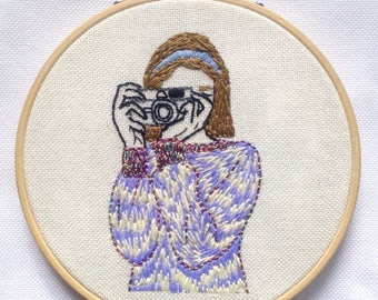 Photographer embroidery