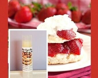 Strawberry Shortcake Organic Lip Balm