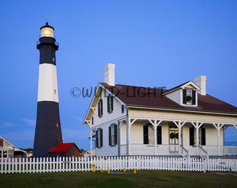 Cape Lookout Light, Harkers Island, North Carolina! MS-8934 Print Photography Home Decor Art Scenic Photography Travel Photo Lighthouse Art