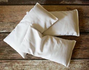 Yoga Eye Pillow Replacement Insert Aromatherapy Yoga Gifts for Mom Meditation Eye Mask Flax Lavender Yoga Teacher Gift for Her Sleep Mask