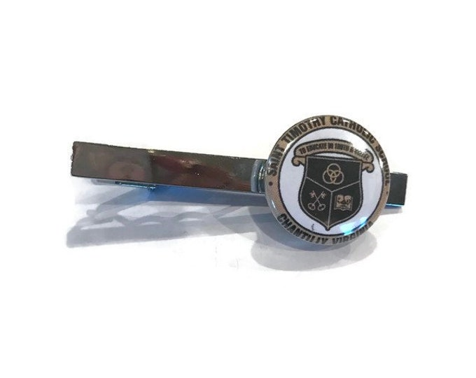 Tie Tack/Pin for Teacher Appreciation - Fundraising - Customized Tie Tack - Customize with Your School Name or Logo