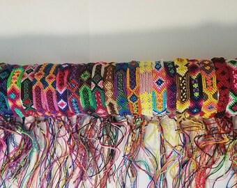 Friendship Bracelet Set Mexican Handwoven Bracelets