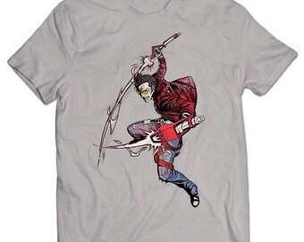No More Heroes Travis Touchdown T-shirt