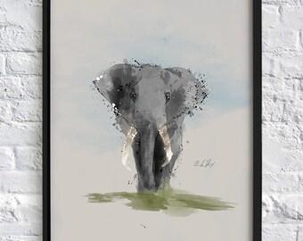 IT'S AN ELEPHANT!