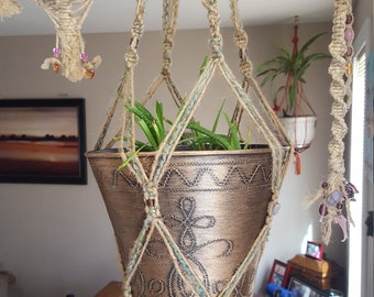Macrame Hanging Plant Holders & Other Macrame Items