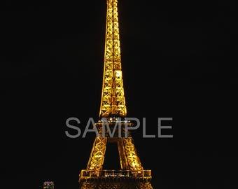 Eiffel Tower Photography Print