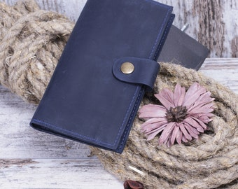 Wallet Handmade Card Holder Travel Wallet Womens Wallet Bifold Wallet Thin Wallet Leather Wallet Card Coin Holder Wallet Wallet For Women