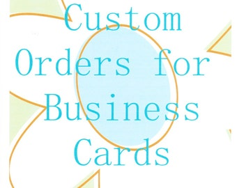Custom Made Business Cards