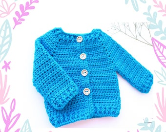 Knitted cardigan, woolen jacket, baby clothes, cotton jacket, spring wear, first put.