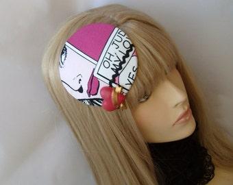 Comic Headdress Headpiece Comicstyle good mood headdress OOAK