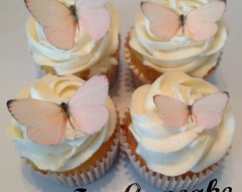 Light Pink Edible Butterflies