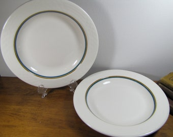 Two (2) Vintage Medallion Sterling China R-4 Shallow Bowls
