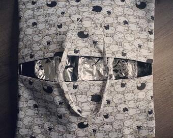 Bag pie / cake sheep pattern