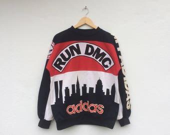 Vintage Rare ADIDAS RUN DMC Hip Hop Rappers As Worn By Alicia Keys