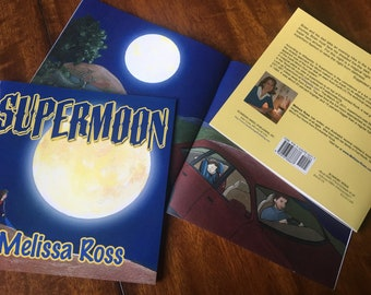 Signed Copy: Children's Picture Book / Superman Book / Moon Child's Story