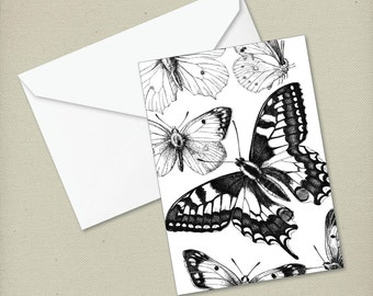 Butterfly 3 - Greeting Card