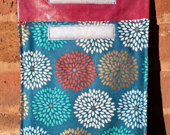 Maroon-lined Eco-friendly Reusable Sandwich Bag