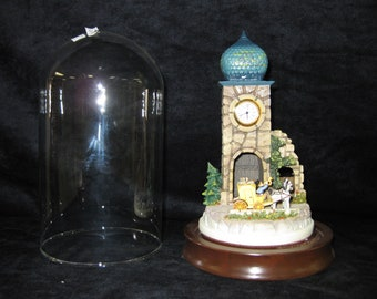 Vintage Hummel - The Mail is Here Clock Tower with Stage Coach #1520594/#285-P