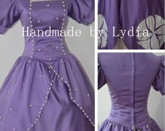 Handmade - Sofia The First Dress, Sophia The First Costume Adult/Kid