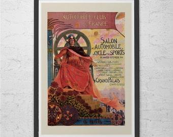 Antique ART NOUVEAU POSTER Print - Belle Epoque Poster Fine Art Print Vintage Art Nouveau Ad High Quality Giclee Art Nouveau Print