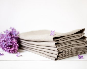 Rustic wedding napkins - Napkins in bulk - Linen napkins set 30 - Linen cloth napkins - Organic napkin cloth - Party napkins