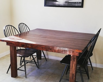 Dining Room Tables HandMade To Buyers Request.