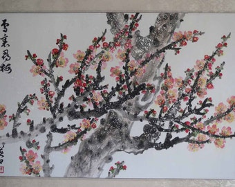 Original Chinese painting-Blossom(Plum Blossom in Snow)