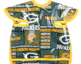 Packers Apron Bib Green Gold