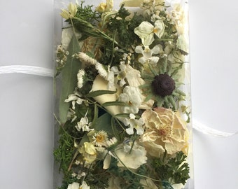 Dry Flowers, Flower Girl,  Wildflowers, Aisle Decoration, Favors, Petal Confetti, Wedding Confetti, Table Decor, 5 Bags or Boxes of Confetti