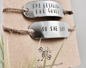 Personalized Shoe tags, hand stamped shoe tag, marathon runners, gift for runner, fitness gift