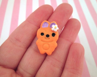 Bunny Cookie Kawaii Decoden Cabochons, #094a