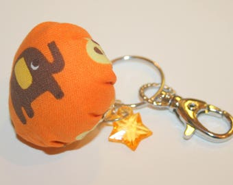 "Keychain or bag charm ""elephant"""