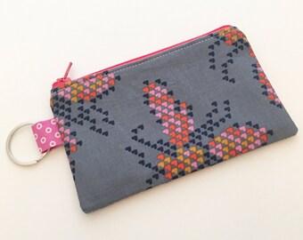 coin purse, coin pouch, zipper coin purse, zipper coin pouch, zip pouch, small zipper pouch, change purse, change pouch, gift for her
