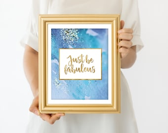 Girl Office Decor - Girl Dorm Decor - Home Office Decor - Girl Power Print - Instant Download - Inspirational Quote Printable - Quote Print