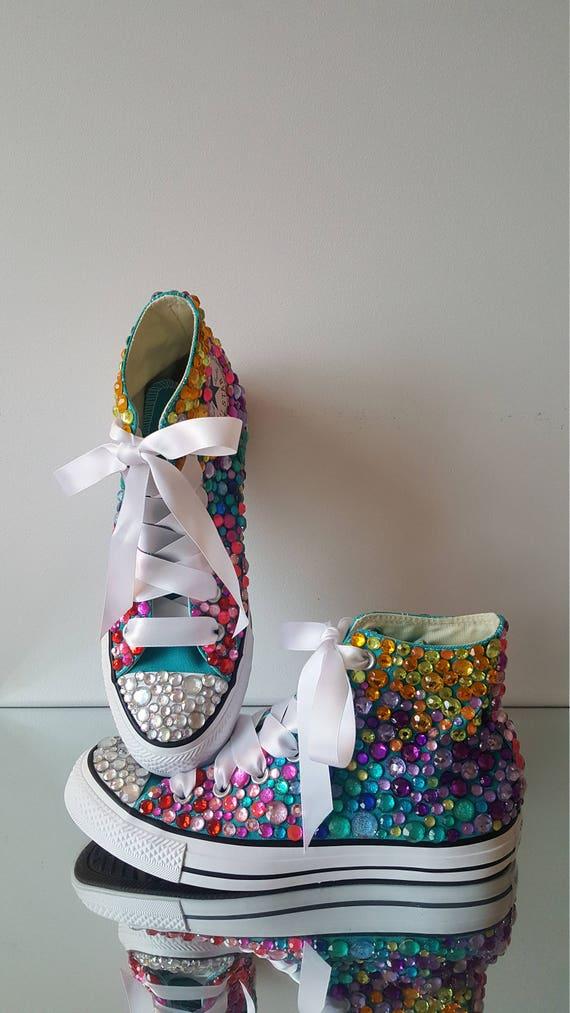 rainbow converse