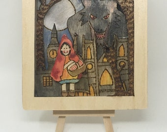 Red Riding-Hood (City) Wall Hanging