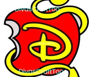 Disney Descendants SVG