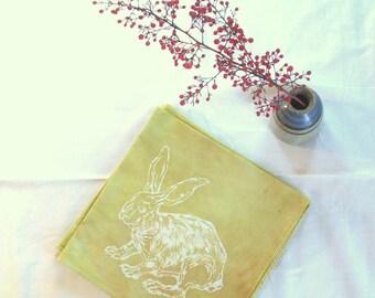 rabbit napkins