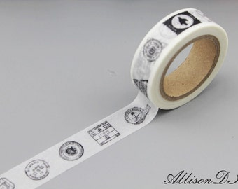 Washi Tape - Masking Tape - Japanese Washi - Deco Tape - Gift Wrap - Filofax - MT081