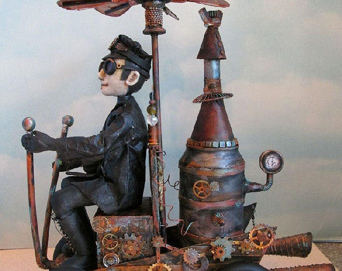 Doll Making Class, Steampunk Wenzel , Steampunk Art Doll Project by Susan Barmore (PDF Download) - SE510E