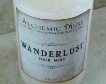 Wanderlust - Hair Mist - Detangler & Styling Primer - Limited Edition