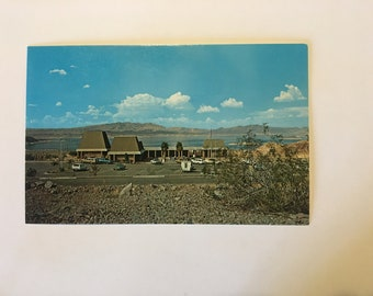 Lake Mead Visitor Center Vintage Postcard
