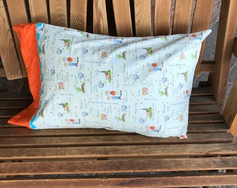 Pillowcase - CTR Themed Pillowcase / Missionary Gift/ LDS Gift -Made With Out Of Print Fabric